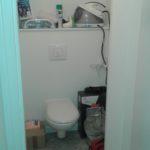 Sol et murs des WC refaits.